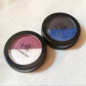 FWP>$10 2 e.l.f. Sparkle Eye Shadow Duos